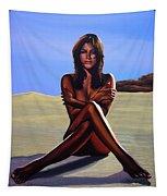 Nude Beach Beauty Tapestry