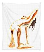 Nude Model Gesture IIi Tapestry
