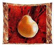 Nude N Beautiful Pear  Tapestry