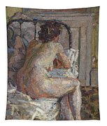 Nude On A Bed, C.1914 Tapestry