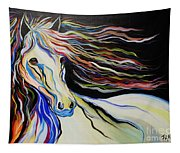 Nuella Horse With The White Shoulder Tapestry