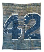 Number 42 Tapestry