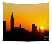 Ny  Sunrise For Thanksgiving Tapestry