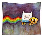 Nyan Time Tapestry