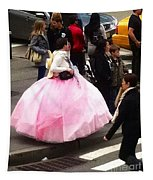 Nyc Ball Gown Walk Tapestry