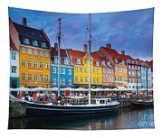 Nyhavn Canal Tapestry