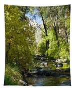 Oak Creek Canyon Creek Arizona Tapestry