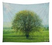 Oak Tree In Spring Tapestry