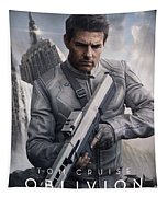 Oblivion Tom Cruise Tapestry