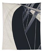 Obsession Sails 9 Black And White Tapestry