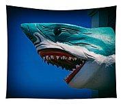 Ocean City Shark Attack Tapestry