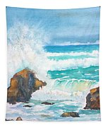 Ocean Storm Sea Squall    Tapestry