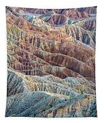 Ocotillos And Ridges Tapestry