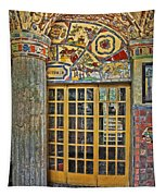 October At Fonthill Castle Tapestry