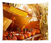 October Market Tapestry