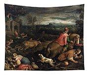 October. Scorpio Tapestry