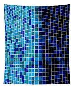Ode To Steve S.   Corner In Blue Tapestry