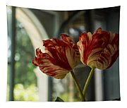 Of Tulips And Windows Tapestry