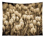 Of Tulips Past Tapestry