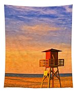 Off Duty 3 Tapestry