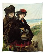 Off To School, 1860 Tapestry