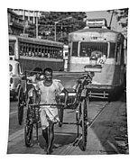 Oh Calcutta Monochrome Tapestry