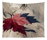 Oh Canada Maple Leaf Tapestry
