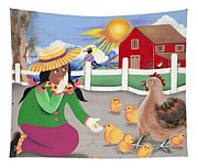 Oh Chick Tapestry