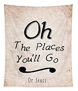 Oh The Places You'll Go Tapestry