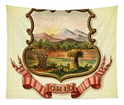 Ohio Coat Of Arms - 1876 Tapestry