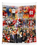 Ohio State National Champions 2015 Tapestry