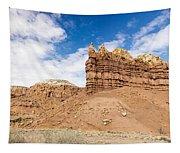 Ojitos De Los Gatos Panorama - New Mexico Tapestry