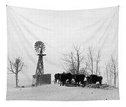 Oklahoma Dust Bowl, 1936 Tapestry