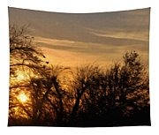 Oklahoma Sunset Tapestry