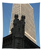 Old And New In The Windy City Tapestry