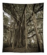 Old Banyan Tree Tapestry