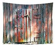 Old Barn Door 2 Tapestry