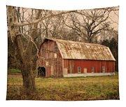 Old Barn Near Rhineland Mo Dsc09267 Tapestry
