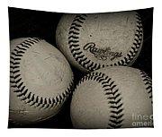 Old Baseballs Tapestry