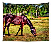 Old Bay Horse Tapestry