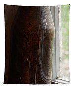 Old Bottle In The Window Tapestry