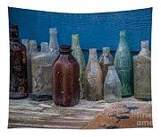 Old Bottles Tapestry