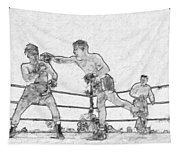 Old Boxing Old Time Tapestry