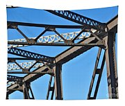 Old Bridge Structure Tapestry