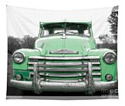 Old Chevy Pickup Truck Tapestry