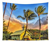 Old Church At Honokawai Maui Tapestry