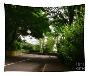 Old Country Road - Peak District - England Tapestry