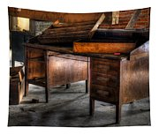 Old Desk In The Attic Tapestry