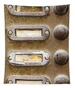 Old Doorbells Tapestry