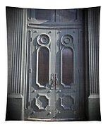 Old Doorway Quebec City Tapestry